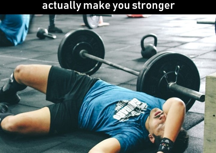 Taking a week off from the gym during the holidays won't kill you; it could actually make youstronger