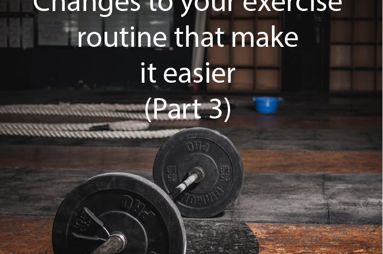 Weight loss and aging: Changes to your exercise routine that make it easier (Part 3)